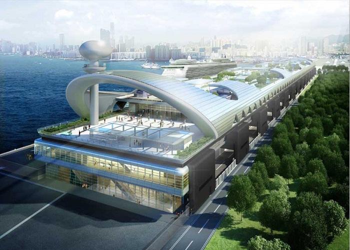 Kai Tak Terminal with China Holidays