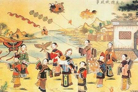 Fly Kites - Customs of Qingming Festival China Holidays UK